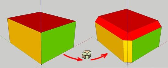 Скругление углов в SketchUp - обзор плагина