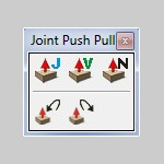 Joint Push Pull плагин для SketchUp