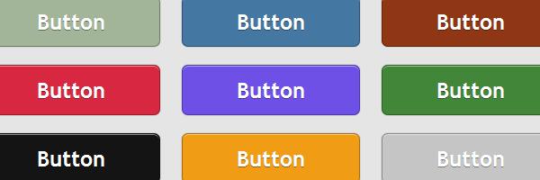 Красивые градиентные кнопки без картинок