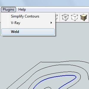 Плагин для SketchUp - Weld
